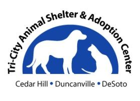 Tri-City Animal Shelter and Adoption Center - Cedar Hill - Duncanville - DeSoto Cat and Dog Logo