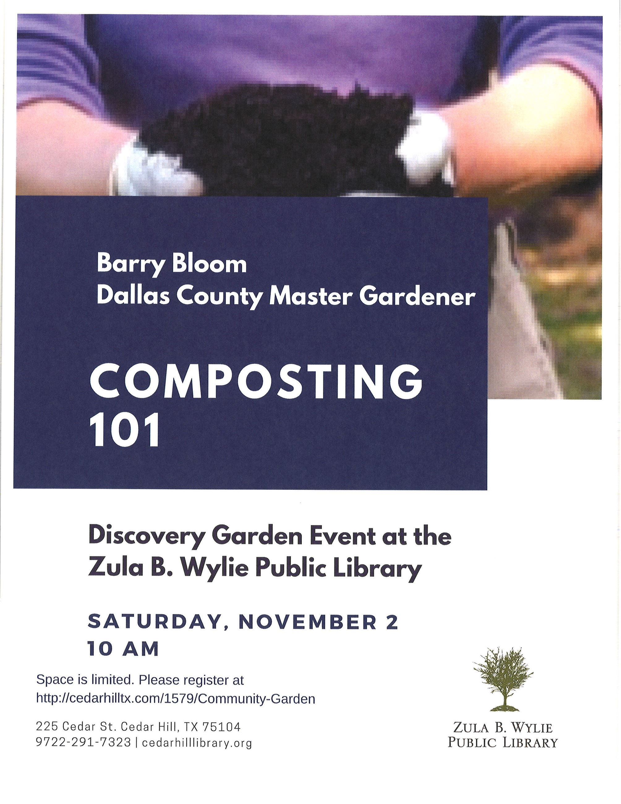 composting 101 with Barry Bloom