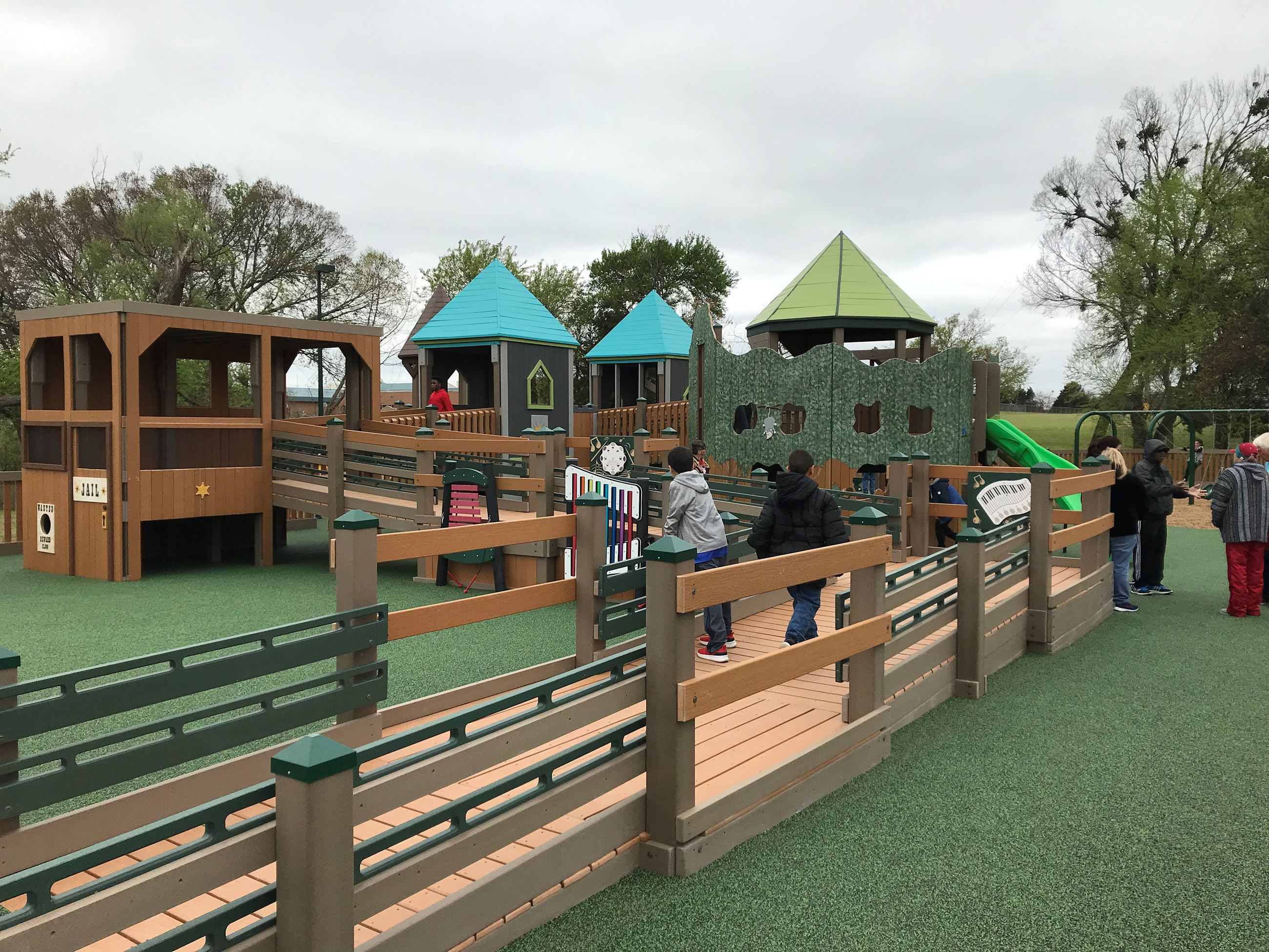Creative Playground at Virginia Weaver Park