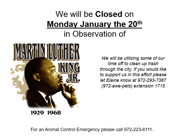 Martin Luther King Closure